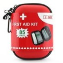 I GO First Aid Kit For Survival and Emergencies (85 Pieces) Light,