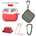 ONEWELL 5PackヘッドフォンキットAirpods Pro 3世代Apple Apple用ケースBluetooth Airpods Proケース用