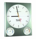 Thomas 1079 Traceable Thermometer/Humidity Clock, -34/116 degree F, -37/47 degree C, humidity 8 to 92% by Thomas