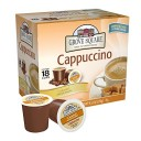 Grove Square Cappuccino, Caramel, 18 Single Serve Cups (Pack of 3) by Grove Square Cappuccino