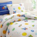 Wildkin Full Duvet Cover,Super Soft 100% Cotton Full Duvet Cover with Button Closure,Coordinates with Other Room Decor,Olive Kids Design ? O