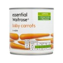 ベビーキャロット不可欠400グラム (Waitrose) - Baby Carrots essential Waitrose 400g