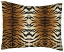 SheetWorld Crib / Toddler Percale Baby Pillow Case - Percale Pillow Cases - Tiger - Made In USA by sheetworld