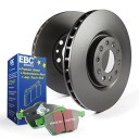 EBC Brakes S14KF1144 S14 Kits Greenstuff and RK Rotors SUV Incl. Rotors and Pads Front Rotor Dia. 13.3 in. S14 Kits Greenstuff and RK Rotors