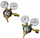 Detroit Torch and Mfg DT-82000 Oxygen and Acetylene Regulator Set (Pack of 2) by Detroit Torch and Mfg. Co.