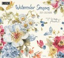 Watercolor Seasons 2021 Calendar