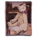 Gund Baby Teddy Bear Throw Blanket, Tapestry (Discontinued by Manufacturer) by GUND [並行輸入品]